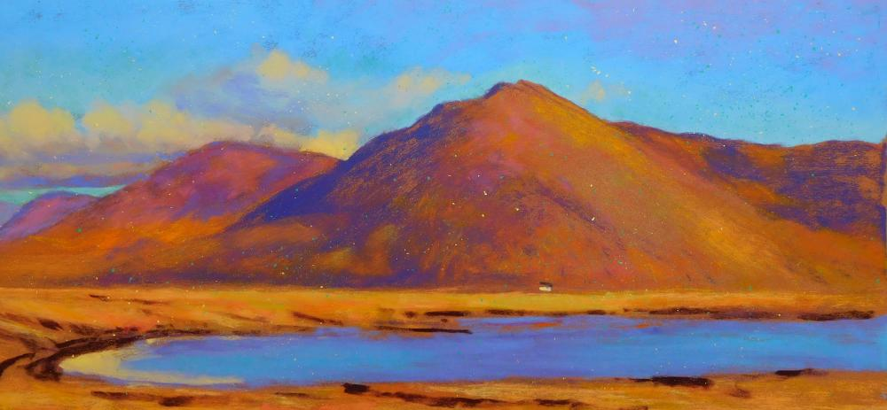 Camille Leblond » pastels » Achill Island Vers Mulranny