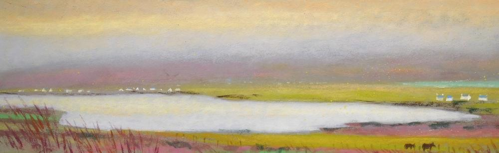 Camille Leblond » pastels » Achill Island Keel Lough immobile